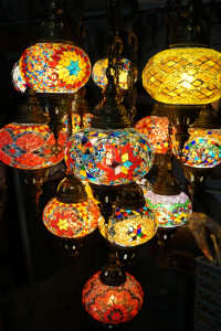 Turkish-Moroccan-16-piece-mosaic-chandelier-close-up